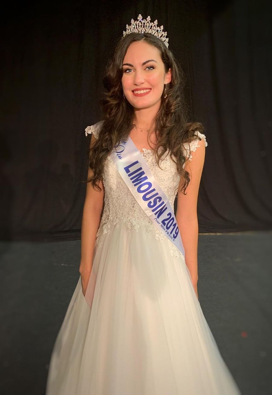 Alison Salapic, Miss Limousin, 22 ans, 1m72, infirmière, élue le 4 octobre 2019 à Aubusson