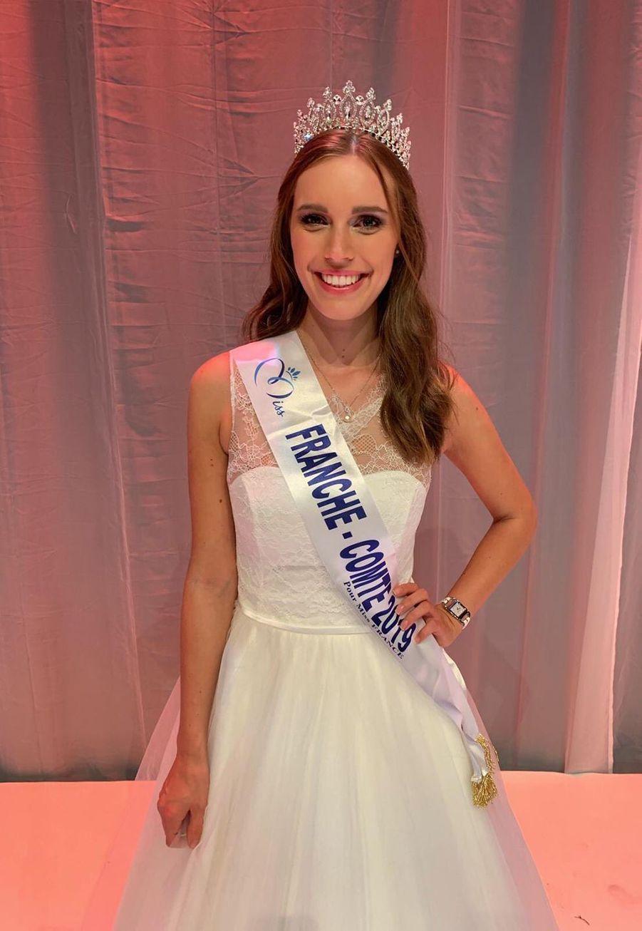 Solène Bernardin, Miss Franche-Comté, 23 ans, 1m76,étudiante en master management international,élue le 20 octobre 2019 à Besançon
