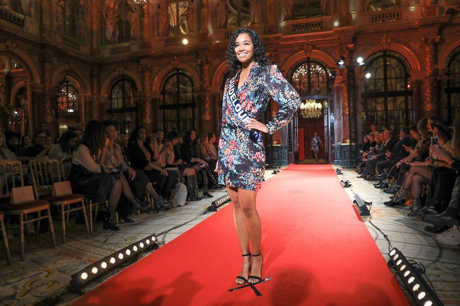 Clémence Botino, Miss Guadeloupe, 22 ans, 1m74