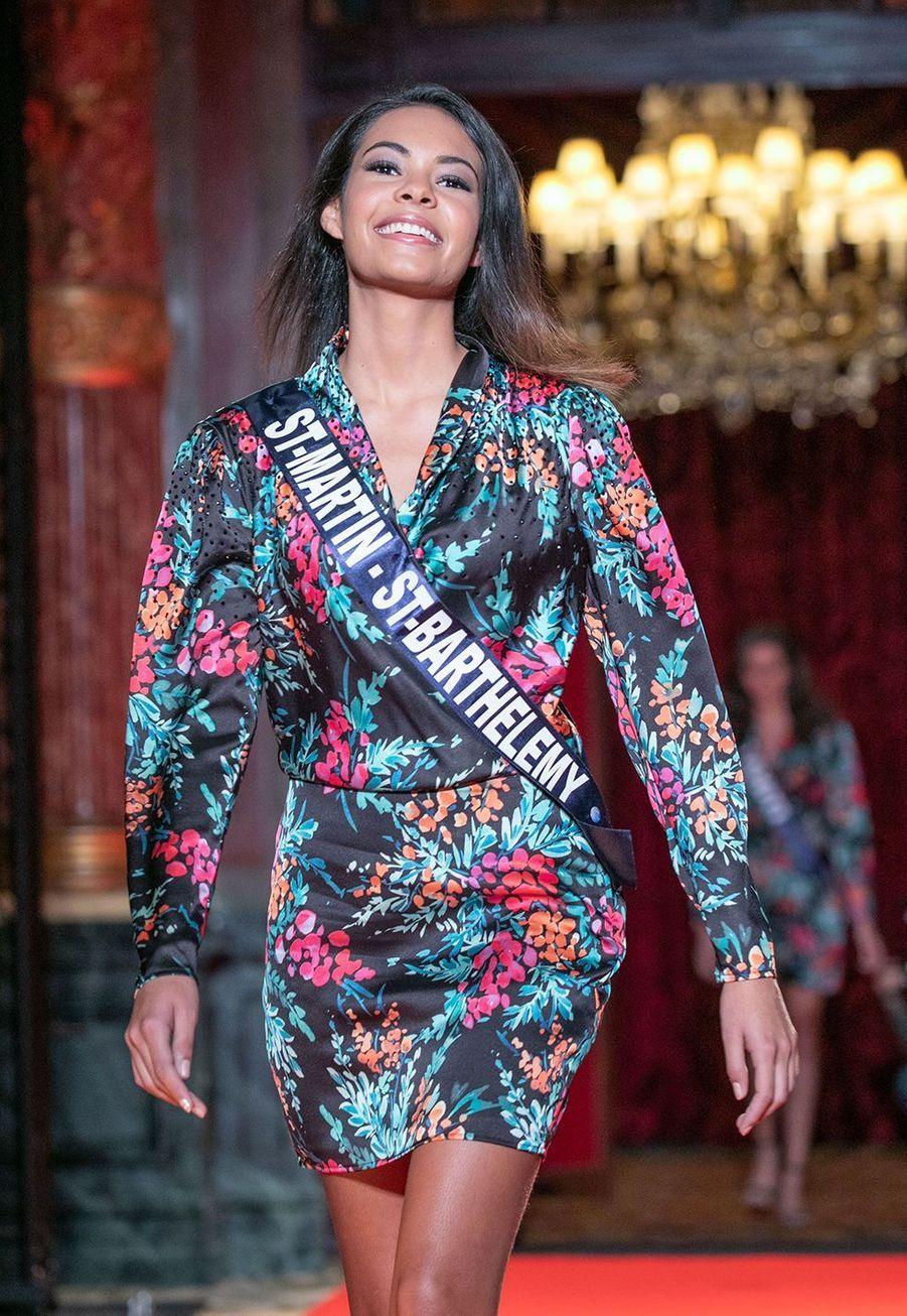 Layla Berry, Miss Saint-Martin et Saint-Barthélemy, 20 ans, 1m75
