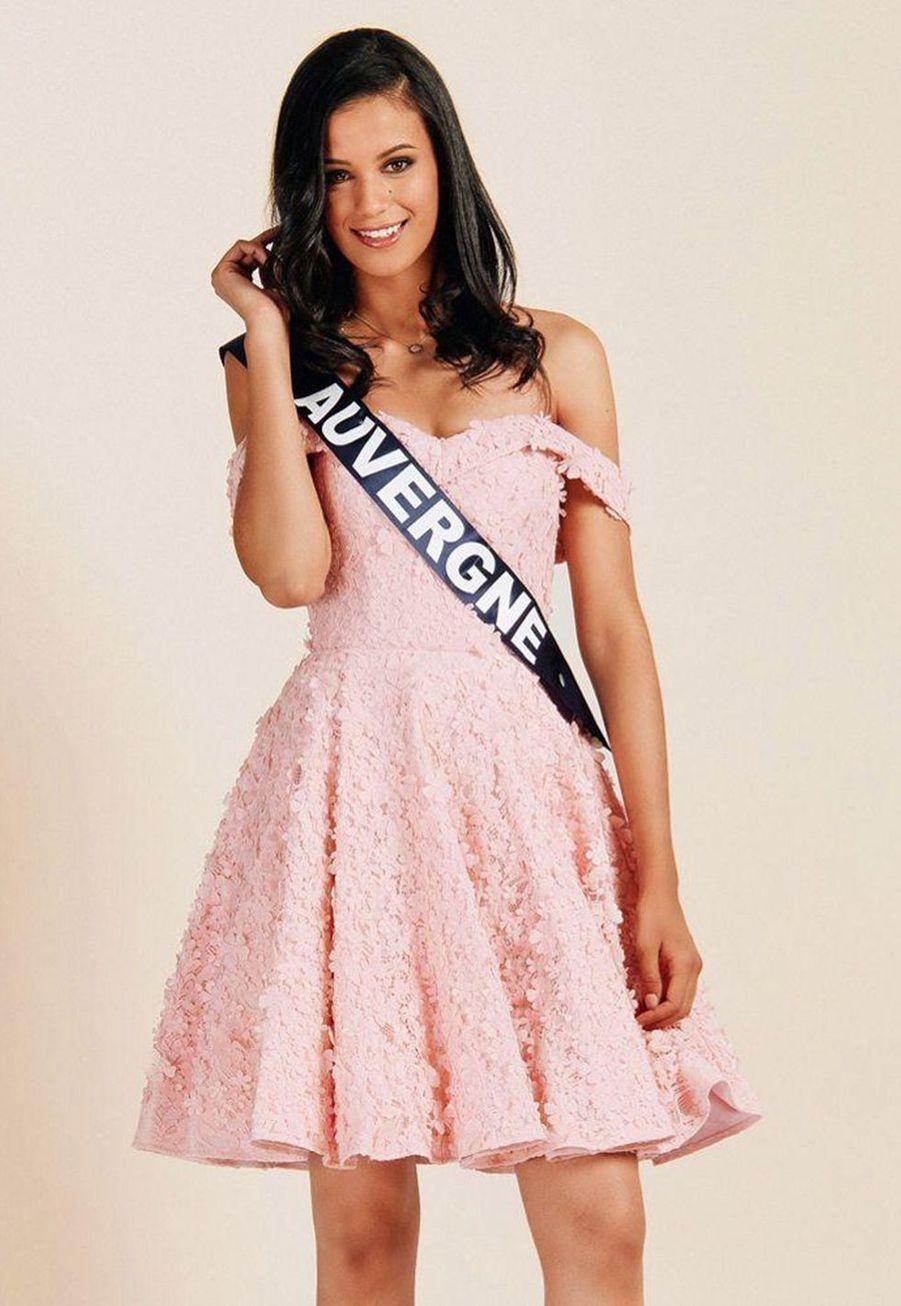 Meïssa Ameur, Miss Auvergne, 1m86, 21 ans