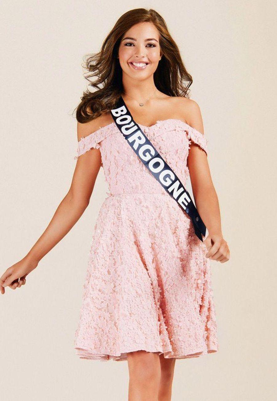 Sophie Diry, Miss Bourgogne, 21 ans, 1m76