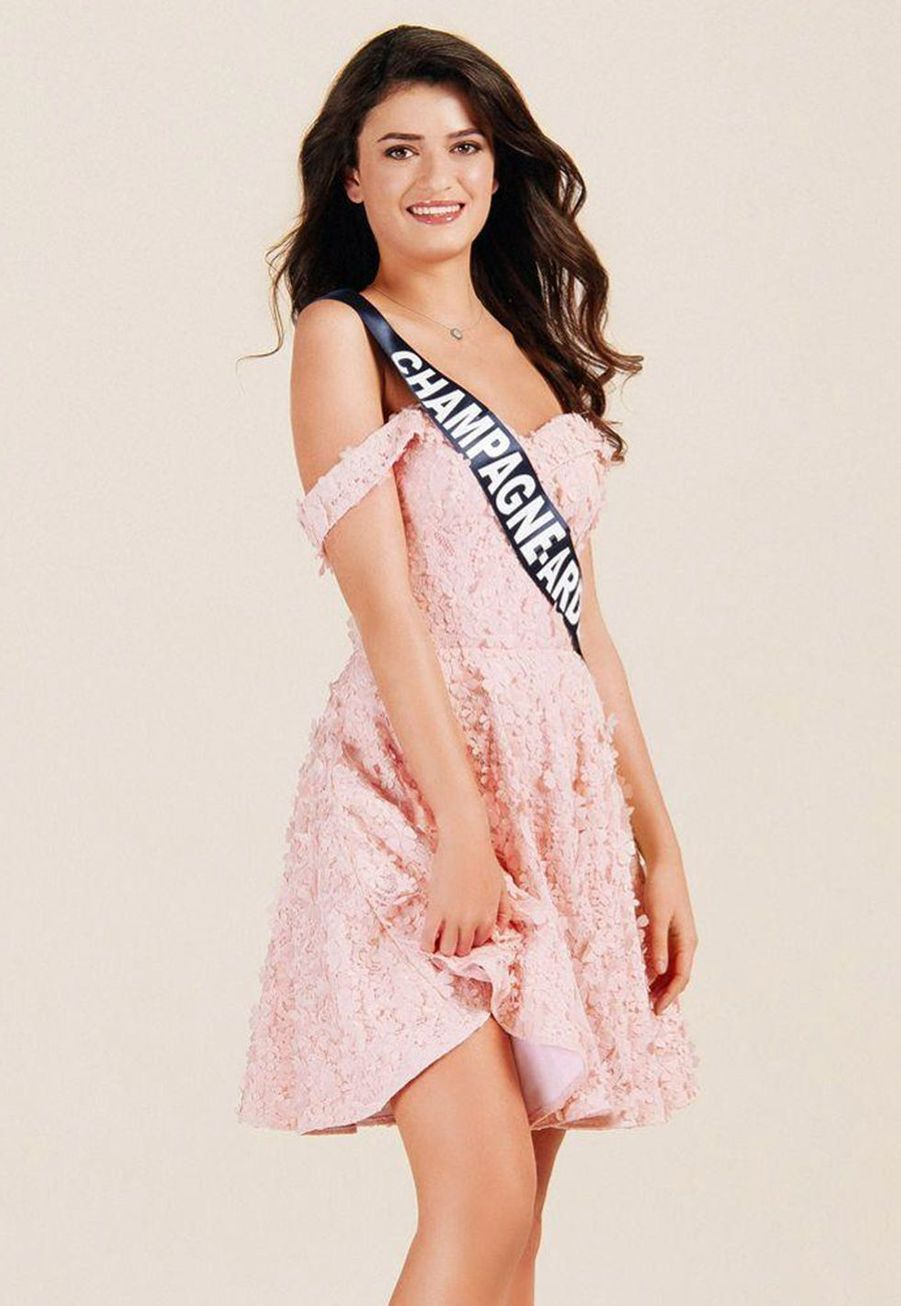 Lucille Moine, Miss Champagne-Ardenne, 18 ans