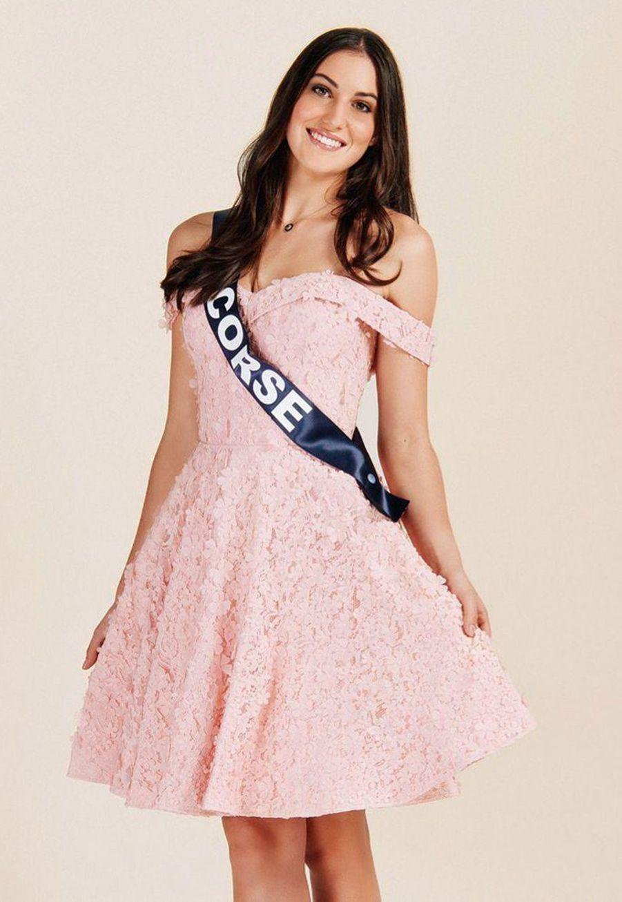 Alixia Cauro, Miss Corse, 20 ans, 1m76