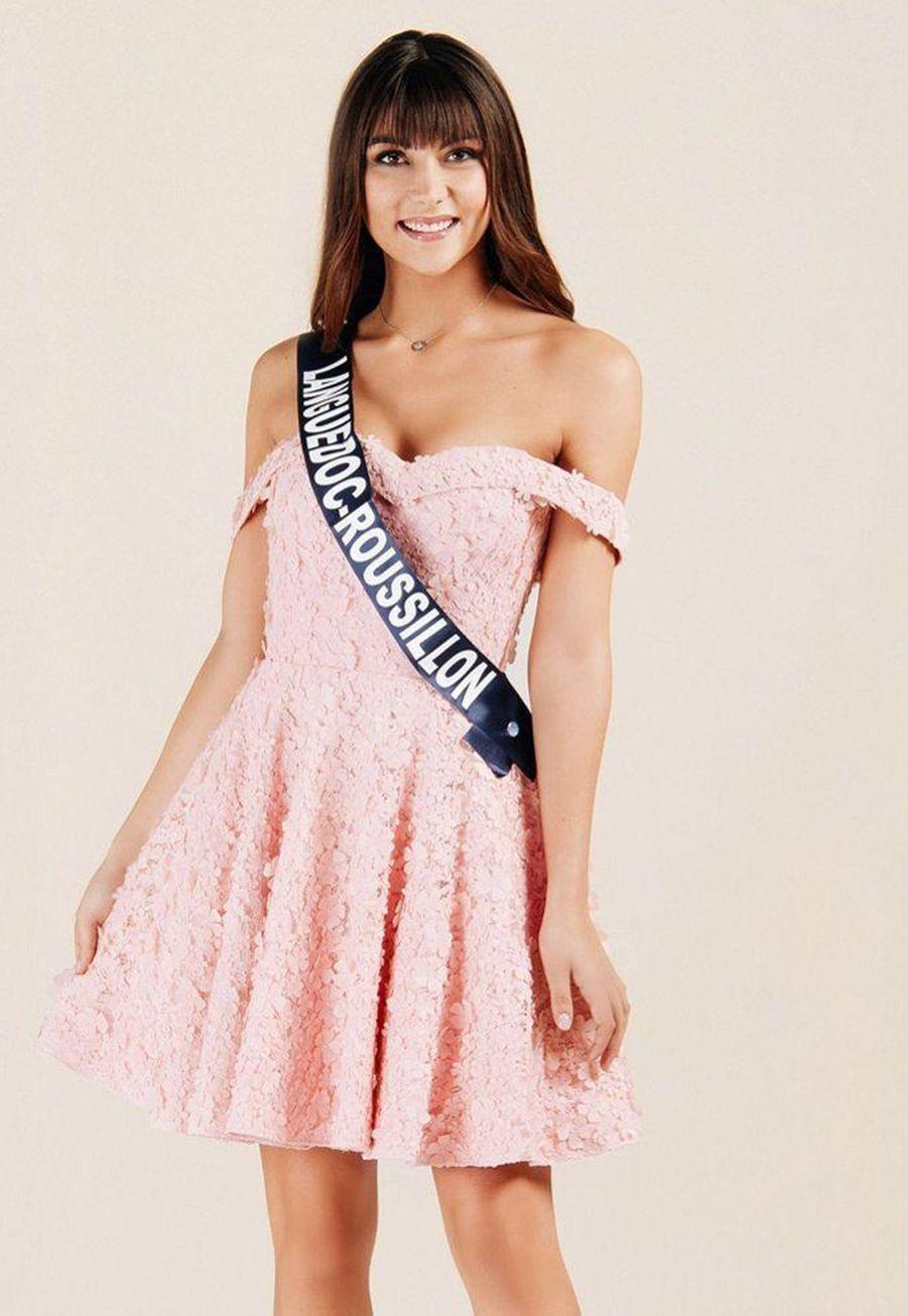 Lucie Caussanel, Miss Languedoc-Roussillon, 18 ans, 1m75
