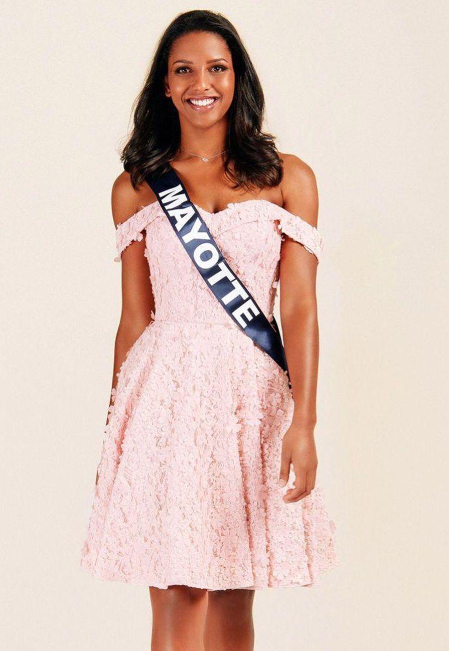 Eva Labourdère, Miss Mayotte, 19 ans, 1m75