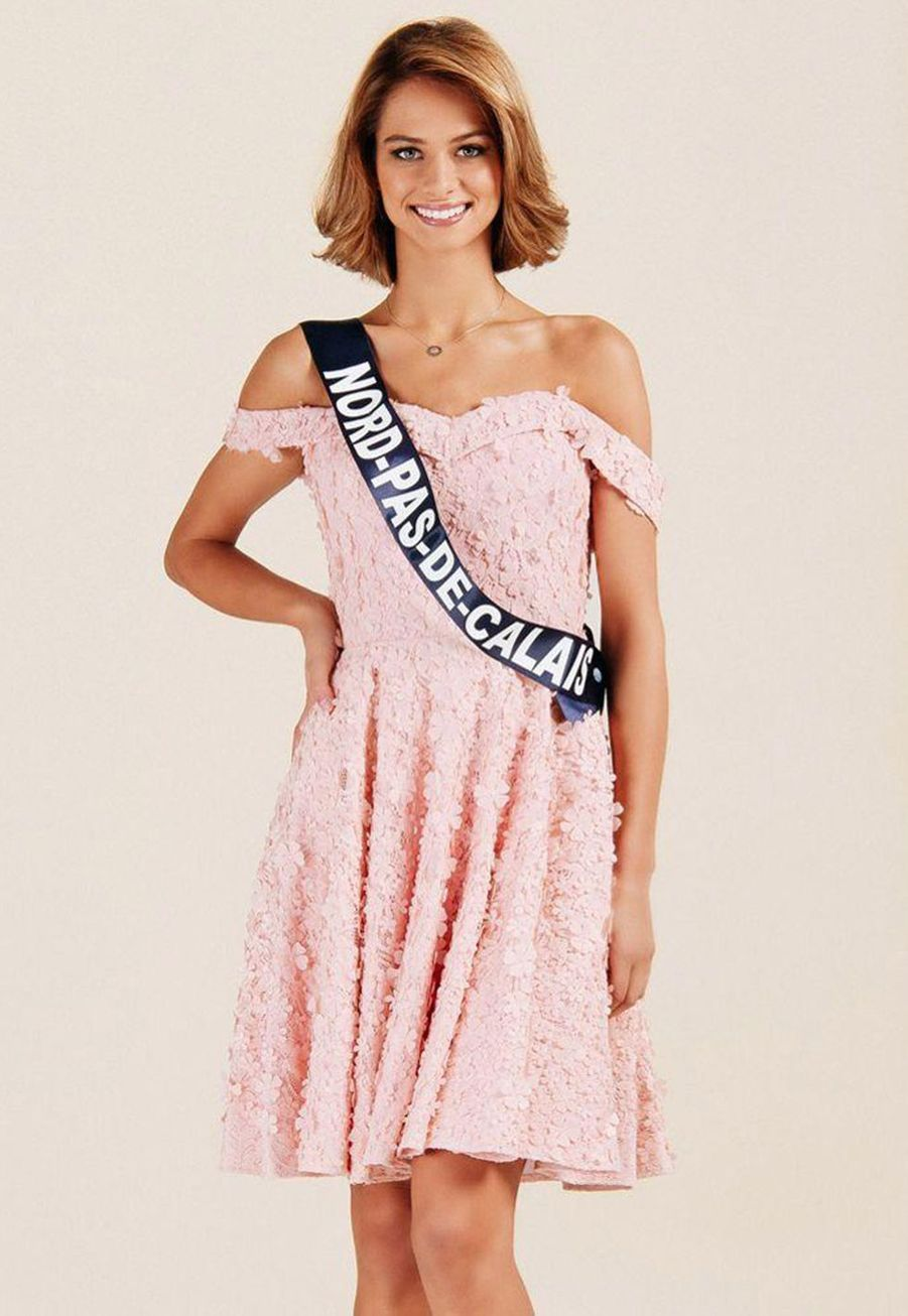 Florentine Somers, Miss Nord-Pas-de-Calais, 19 ans, 1m77