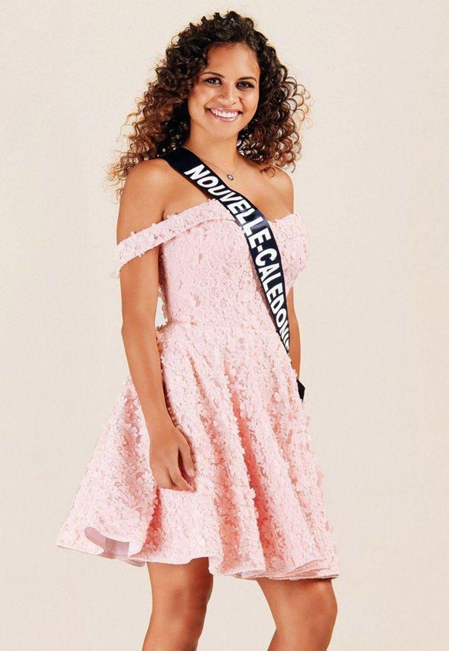 Anaïs Toven, Miss Nouvelle-Calédonie, 18 ans, 1m70