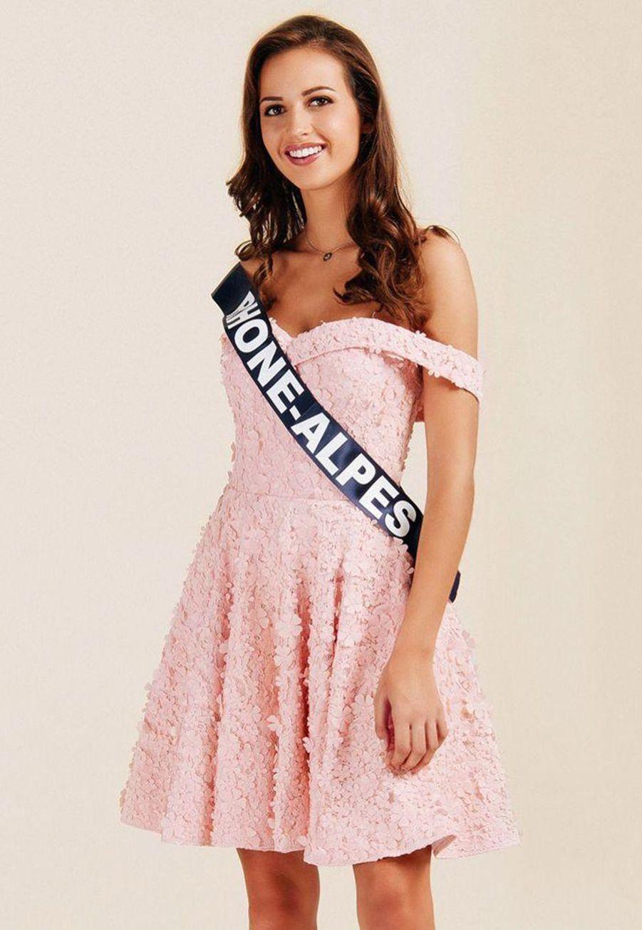 Chloé Prost, Miss Rhône-Alpes, 20 ans, 1m77