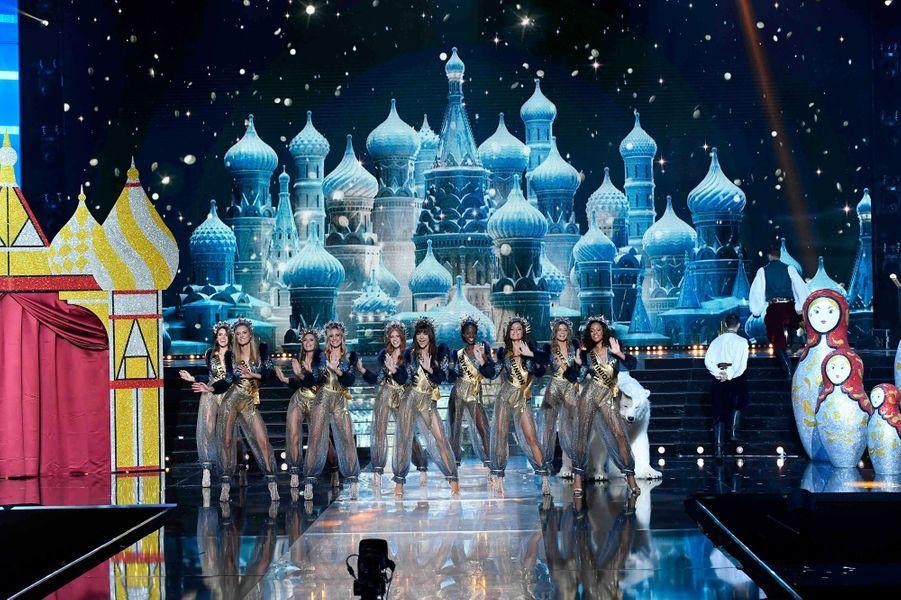Les miss sur le tableau consacré à la Russie.