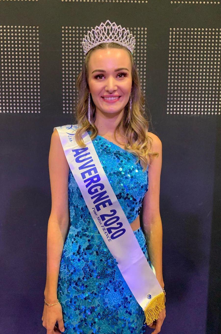 Miss Auvergne, Géromine Prique, 21 ans