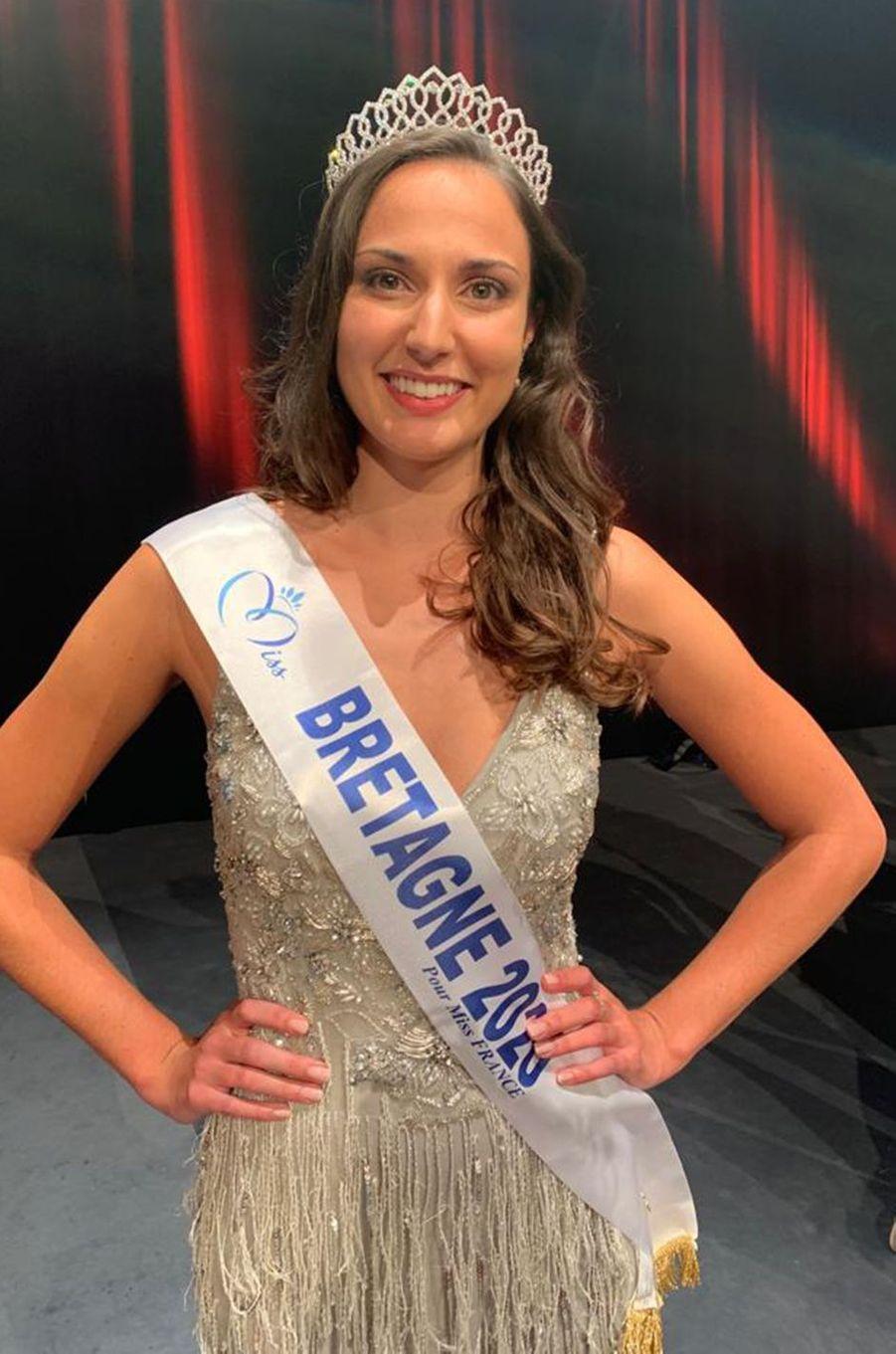 Miss Bretagne, Julie Foricher, 23 ans