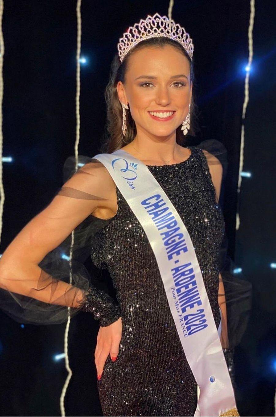 Miss Champagne-Ardenne, Gwenegann Saillard, 21 ans