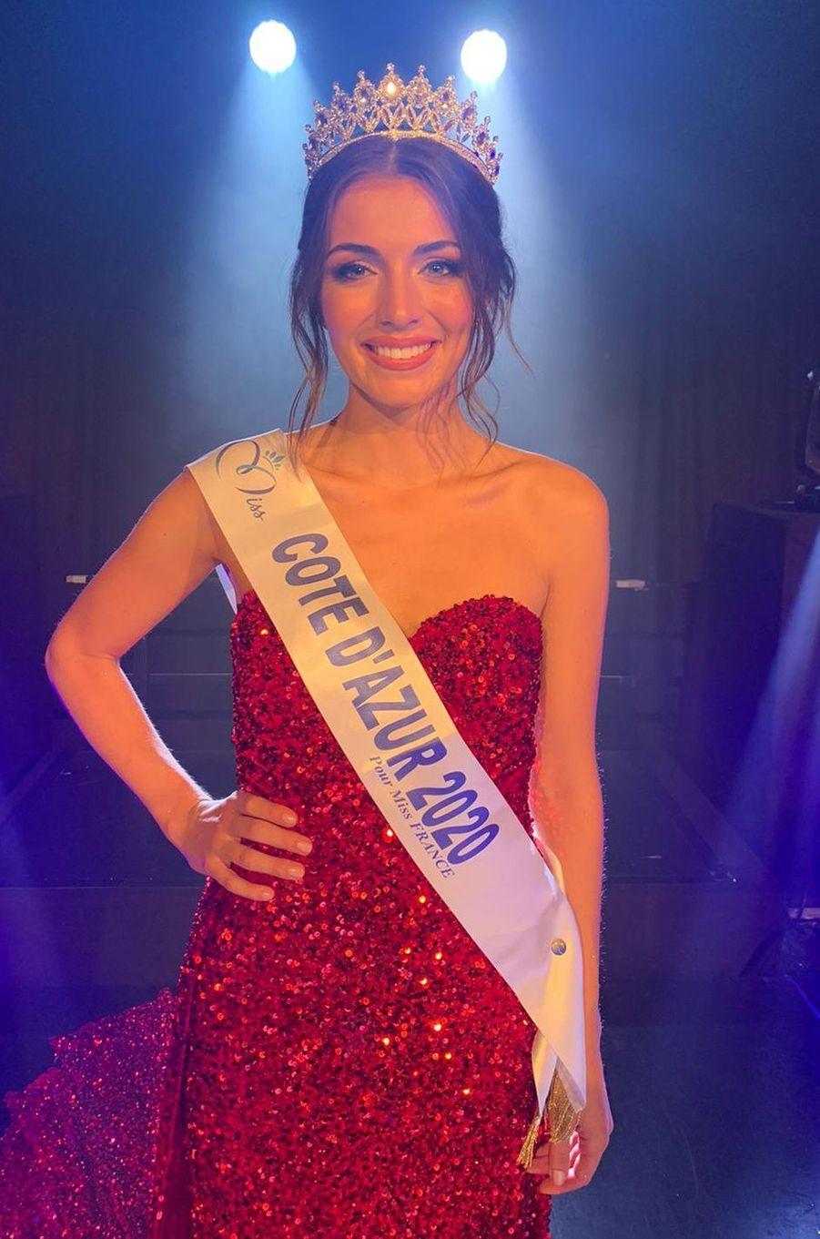 Miss Côte d'Azur, Lara Gautier, 22 ans