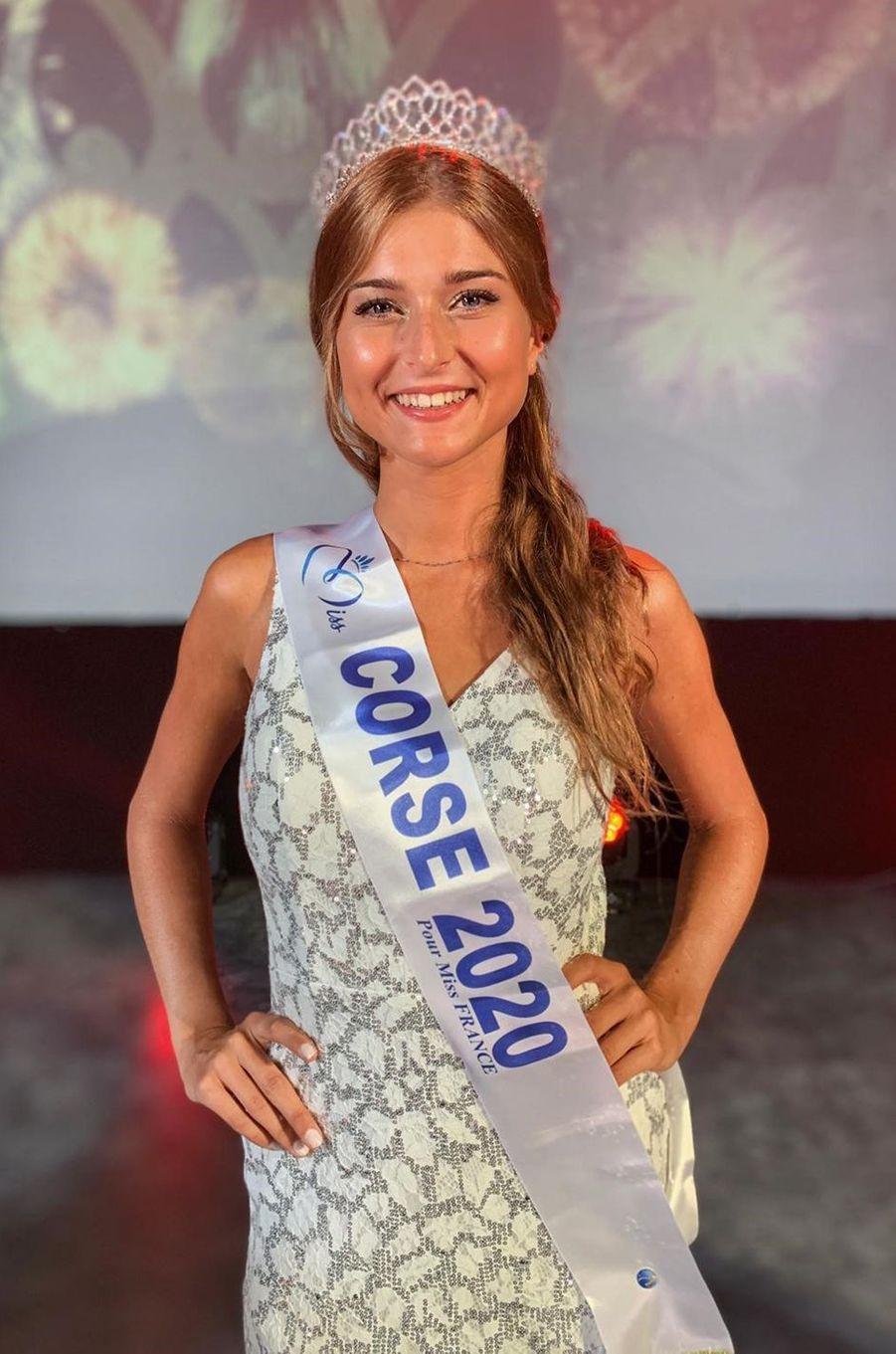 Miss Corse, Noémie Leca, 19 ans