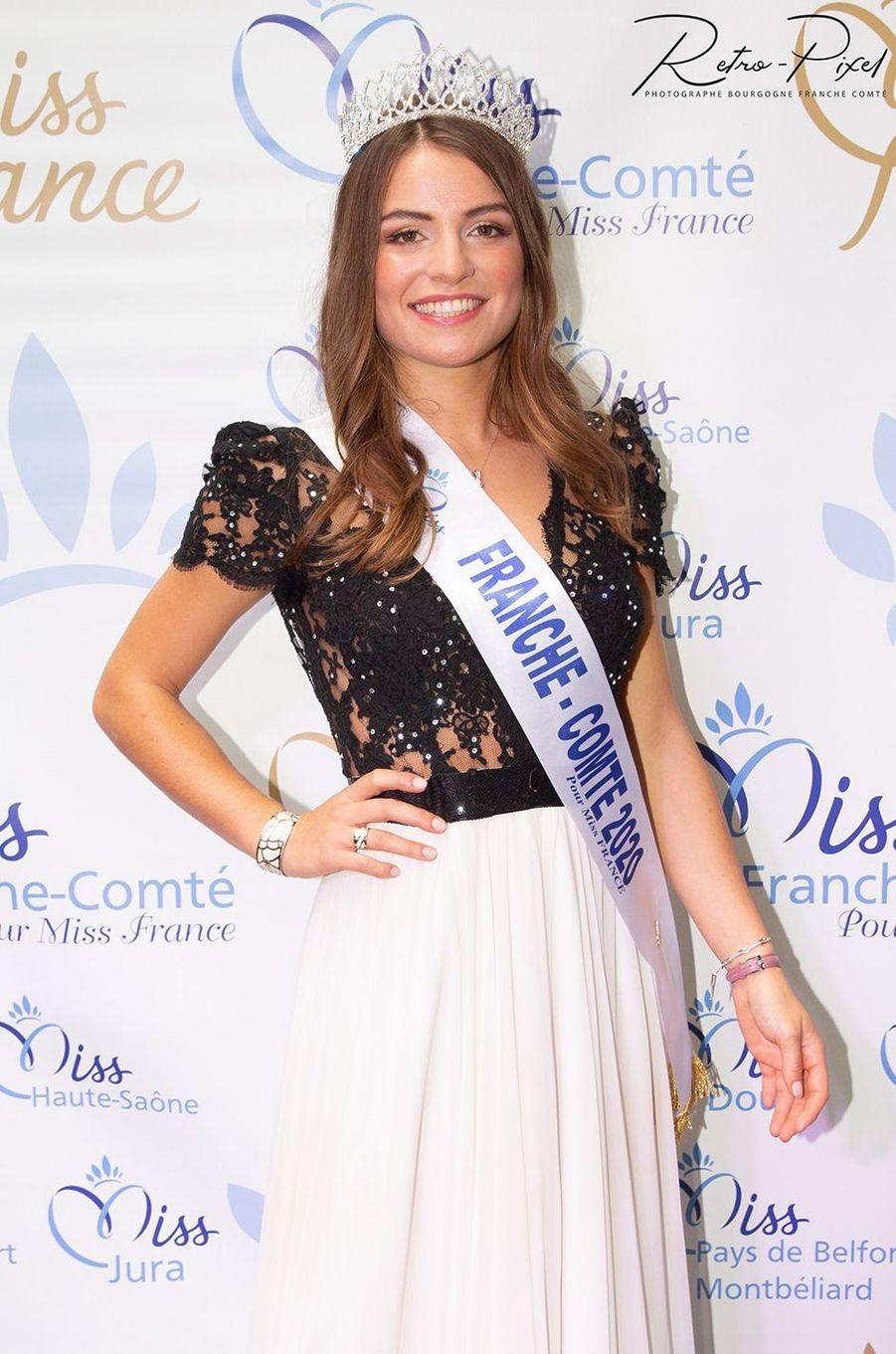 Miss Franche-Comté, Coralie Gandelin, 23 ans