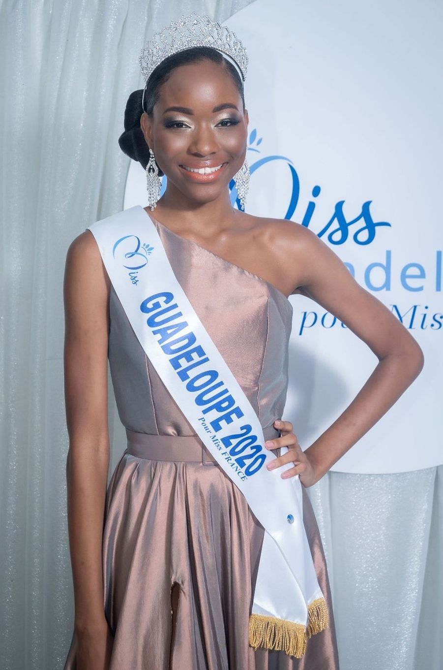 Miss Guadeloupe, Kenza Andreze-Louison, 20 ans