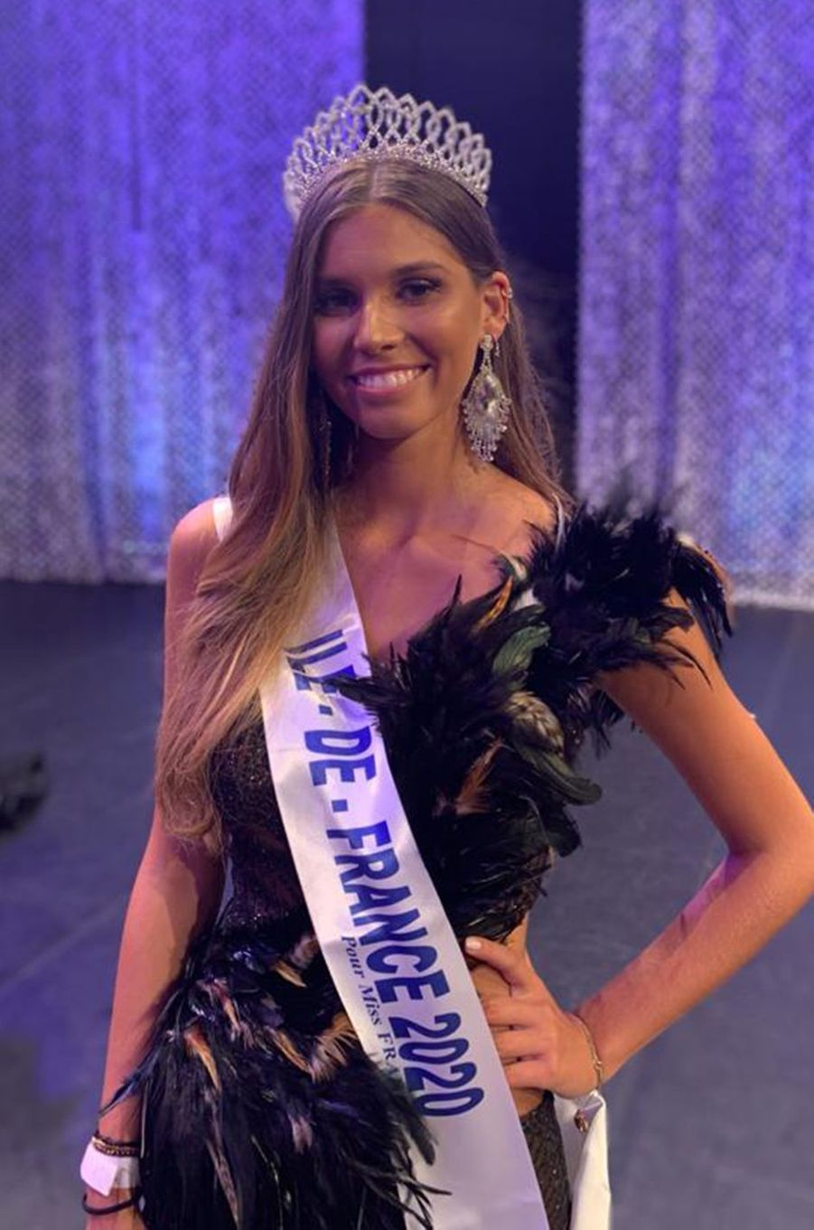 Miss Ile-de-France, Lara Lourenço, 18 ans