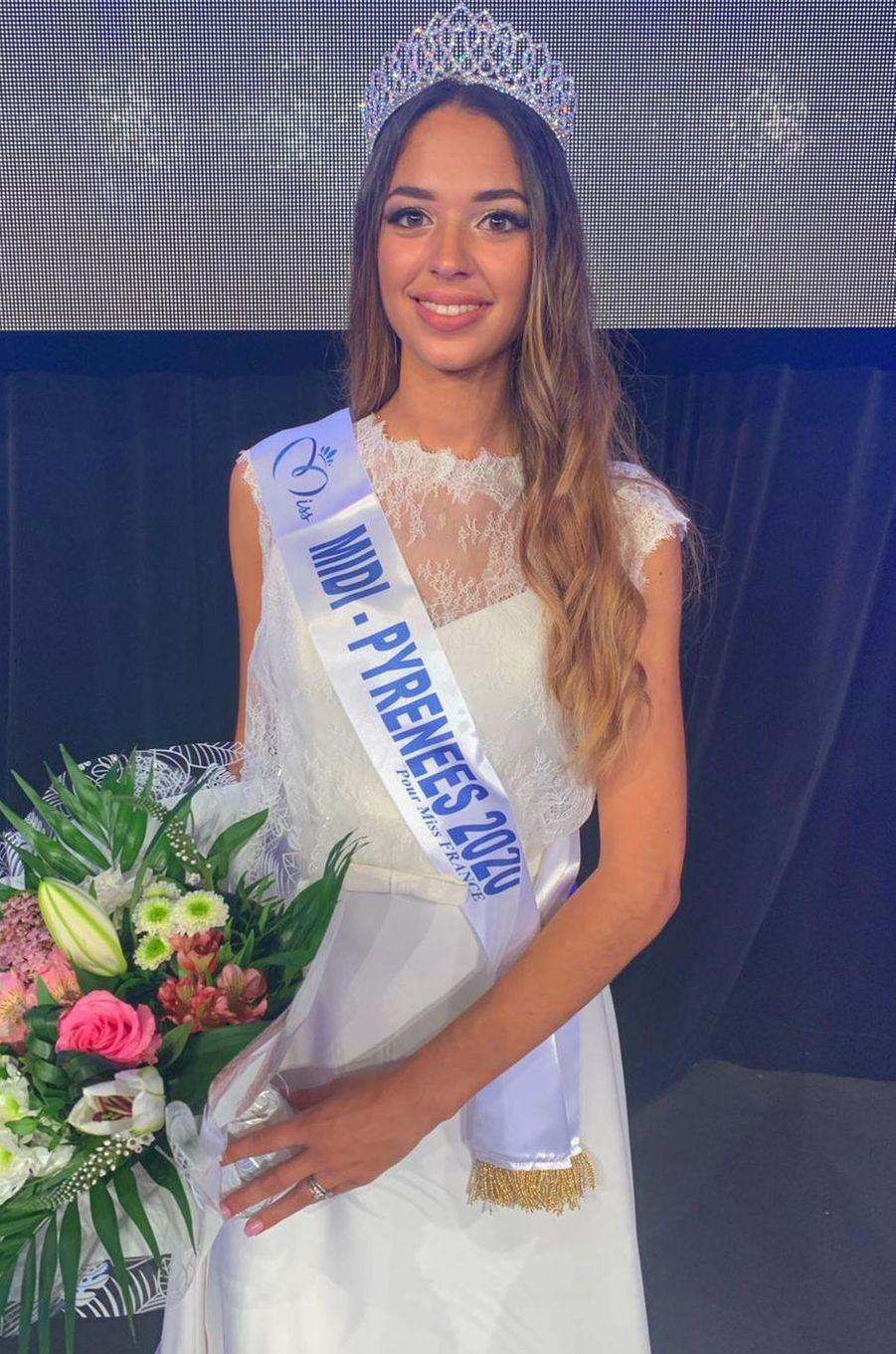 Miss Midi-Pyrénées, Emma Arrebot Natou, 19 ans