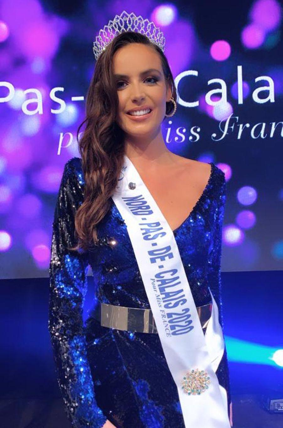 Miss Nord-Pas-de-Calais, Laura Cornillot, 24 ans