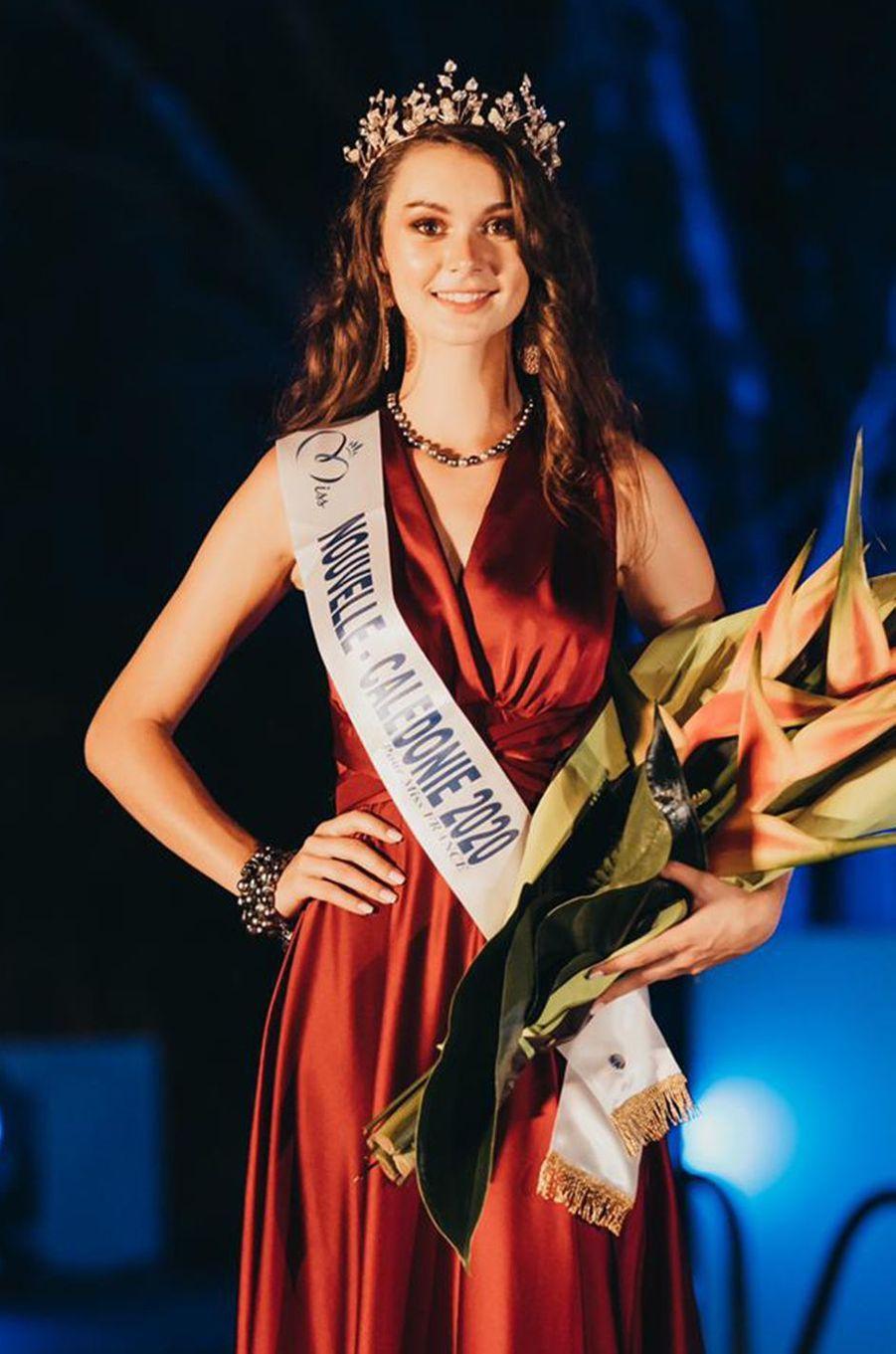Miss Nouvelle-Calédonie, Louisa Salvan, 19 ans