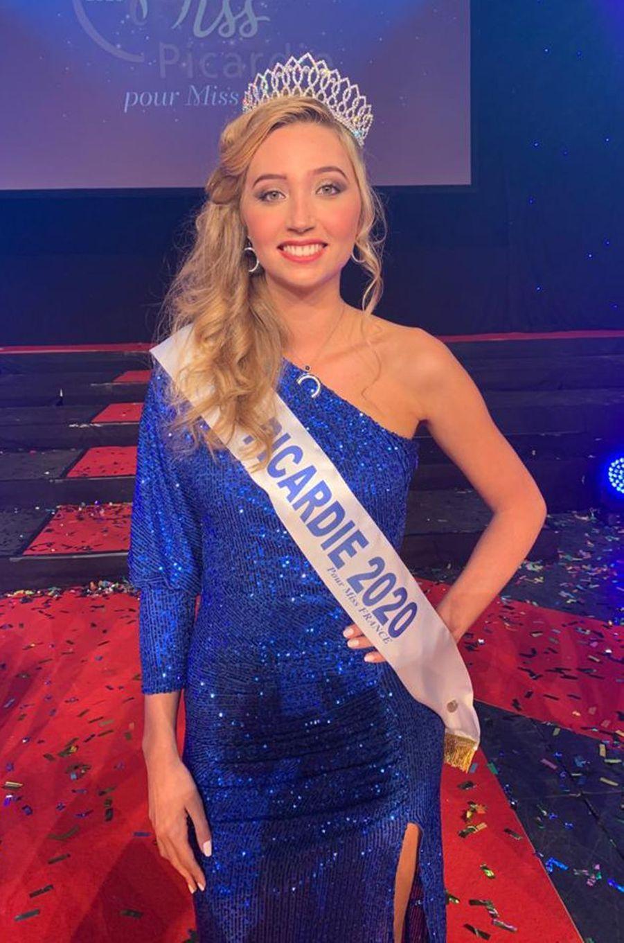 Miss Picardie, Tara de Mets, 21 ans