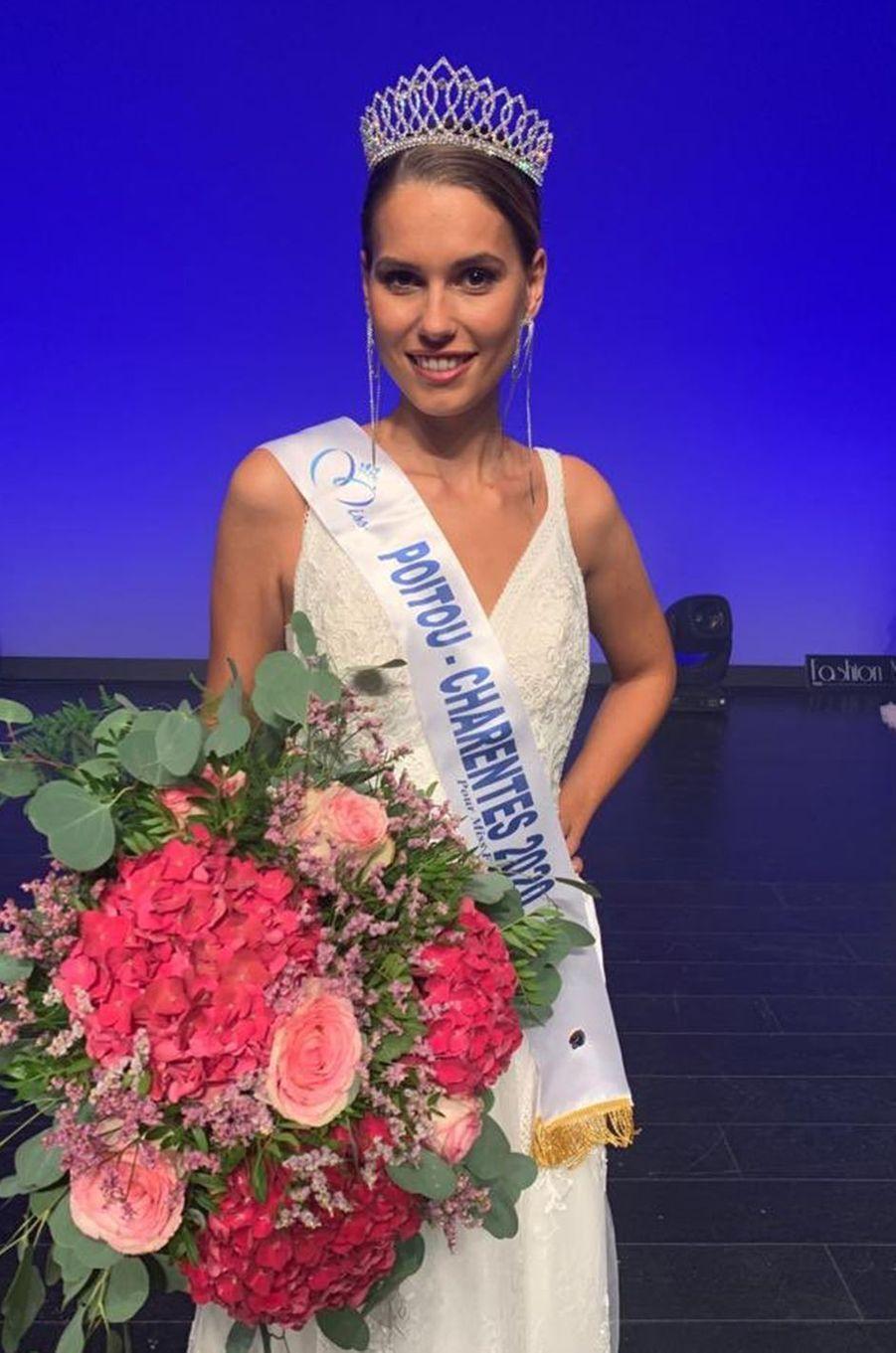 Miss Poitou-Charentes, Justine Dubois, 24 ans