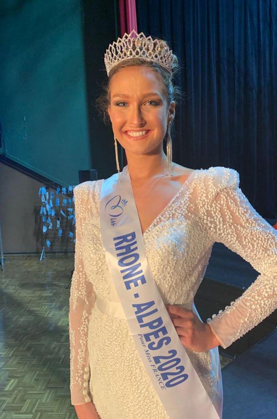 Miss Rhône-Alpes, Anaïs Roux, 23 ans