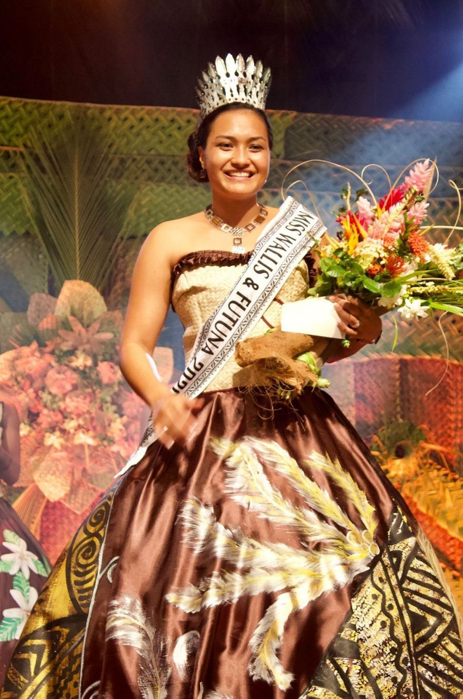 Miss Wallis-et-Futuna, Mylène Halemai, 19 ans