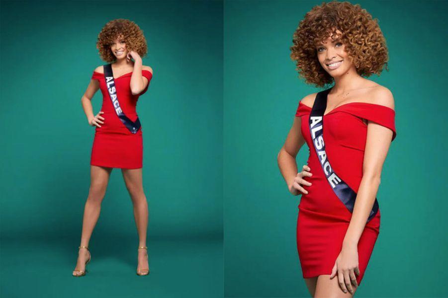 Miss Alsace, Aurélie Roux, 24 ans, 1m72