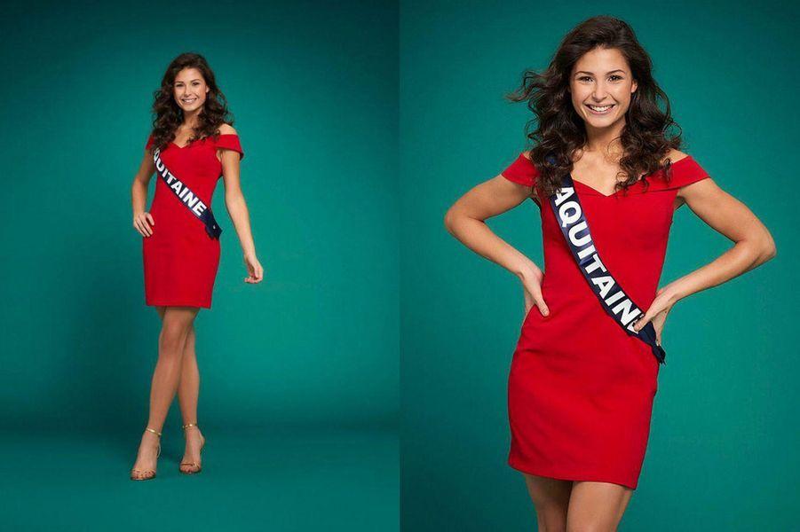 Miss Aquitaine, Leïla Veslard, 18 ans, 1m76