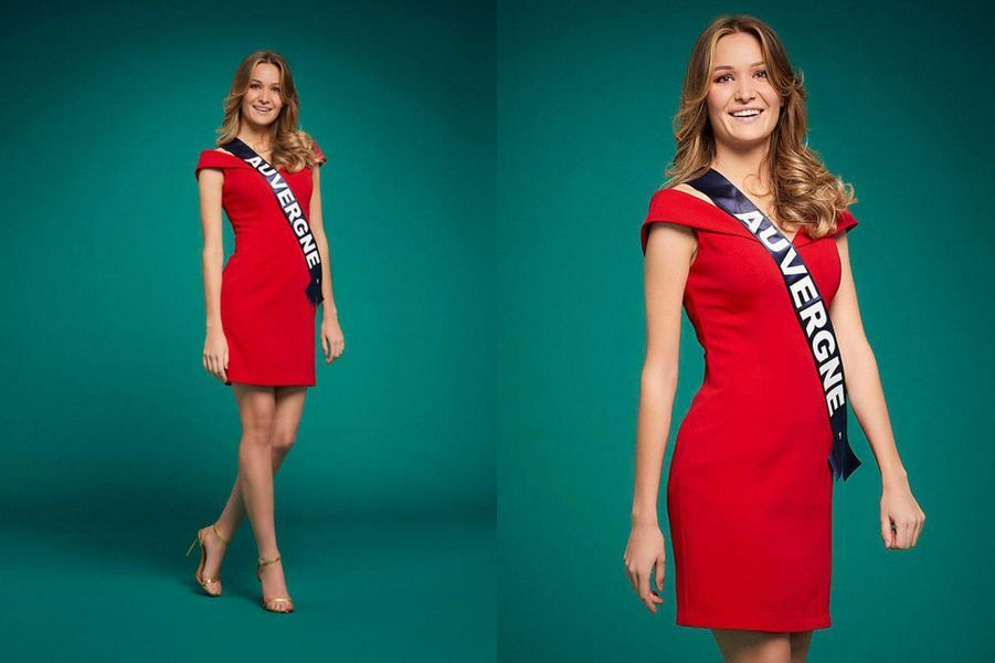 Miss Auvergne, Géromine Prique, 21 ans, 1m76