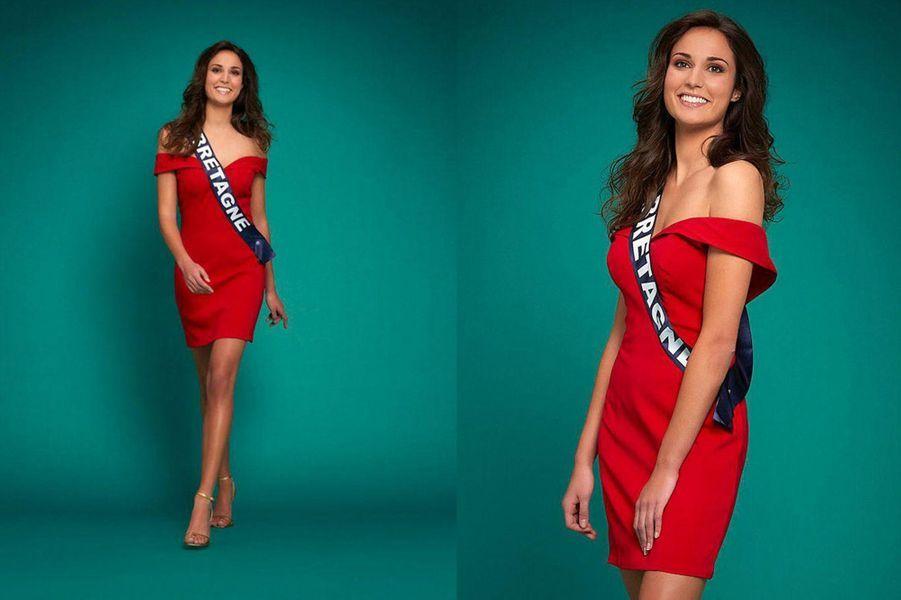 Miss Bretagne, Julie Foricher, 23 ans, 1m78