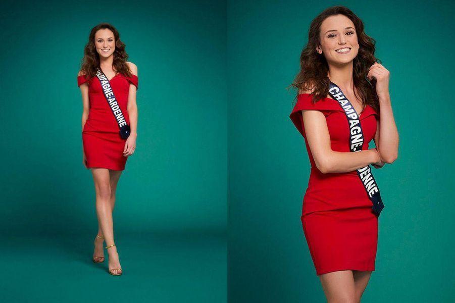 Miss Champagne-Ardenne, Gwenegann Saillard, 21 ans, 1m70
