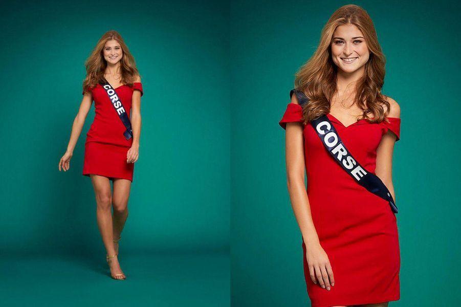 Miss Corse, Noémie Leca, 19 ans, 1m78