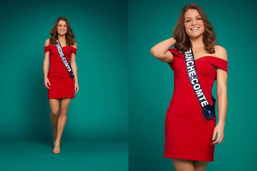 Miss Franche-Comté, Coralie Gandelin, 23 ans, 1m72