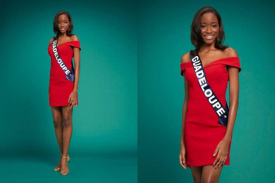 Miss Guadeloupe, Kenza Andreze-Louison, 20 ans, 1m75