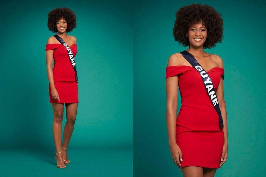 Miss Guyane, Héléneschka Horth, 23 ans, 1m74