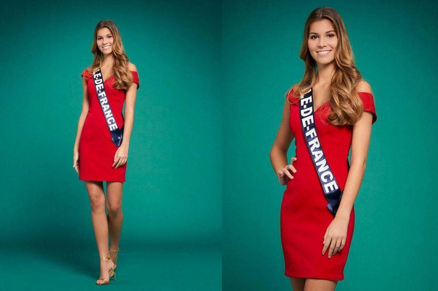 Miss Ile-de-France, Lara Lourenço, 18 ans, 1m71