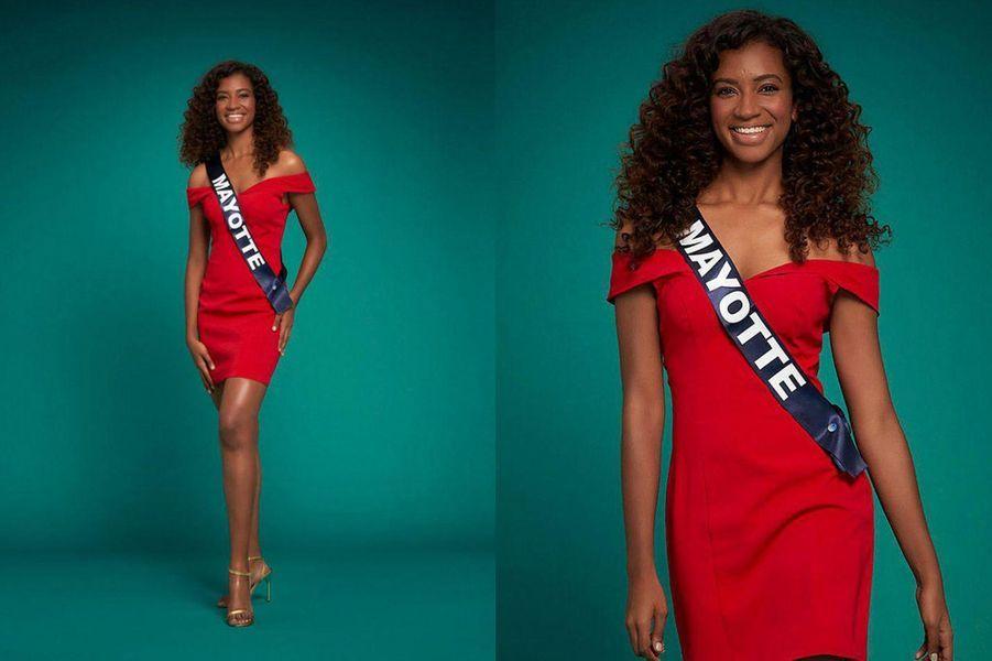 Miss Mayotte, Anlia Charifa, 23 ans, 1m77