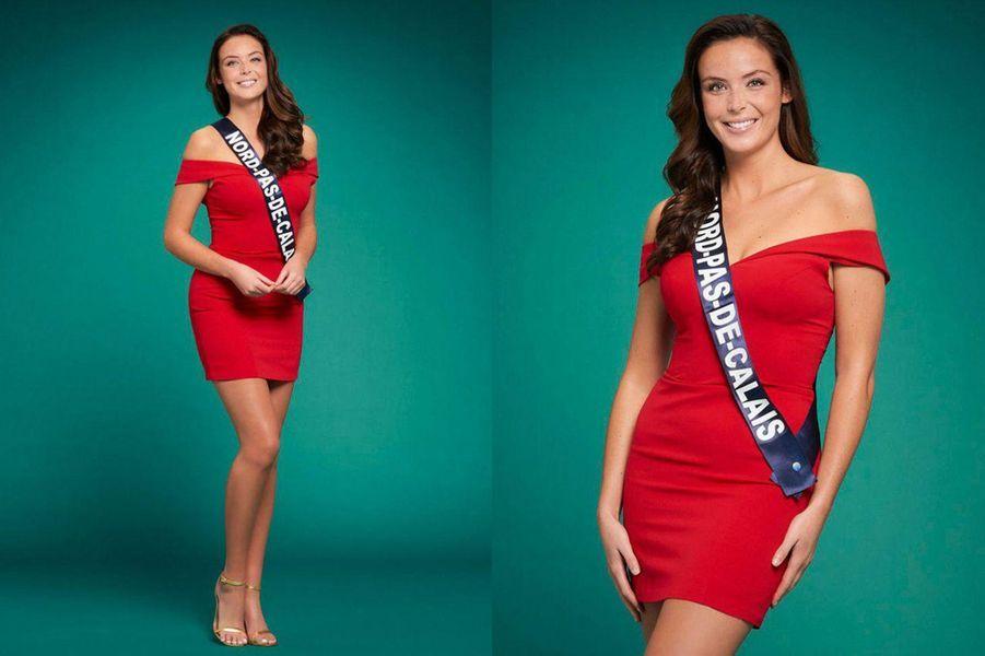 Miss Nord-Pas-de-Calais, Laura Cornillot, 24 ans, 1m78