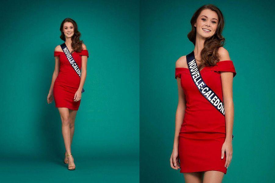 Miss Nouvelle-Calédonie, Louisa Salvan, 19 ans, 1m74