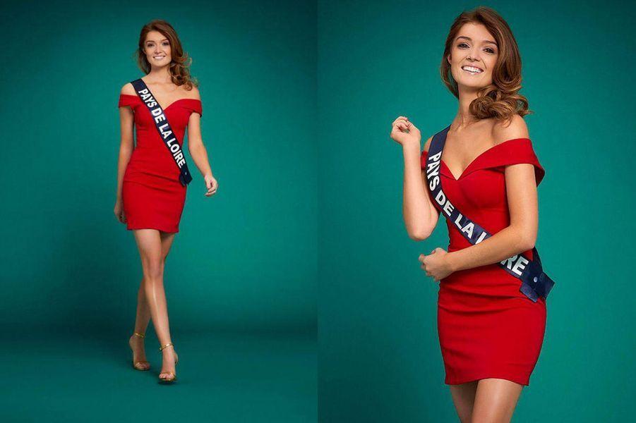 Miss Pays de la Loire, Julie Tagliavacca, 24 ans, 1m74