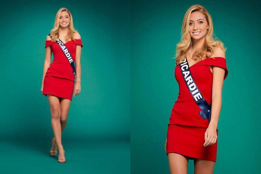 Miss Picardie, Tara de Mets, 21 ans, 1m79