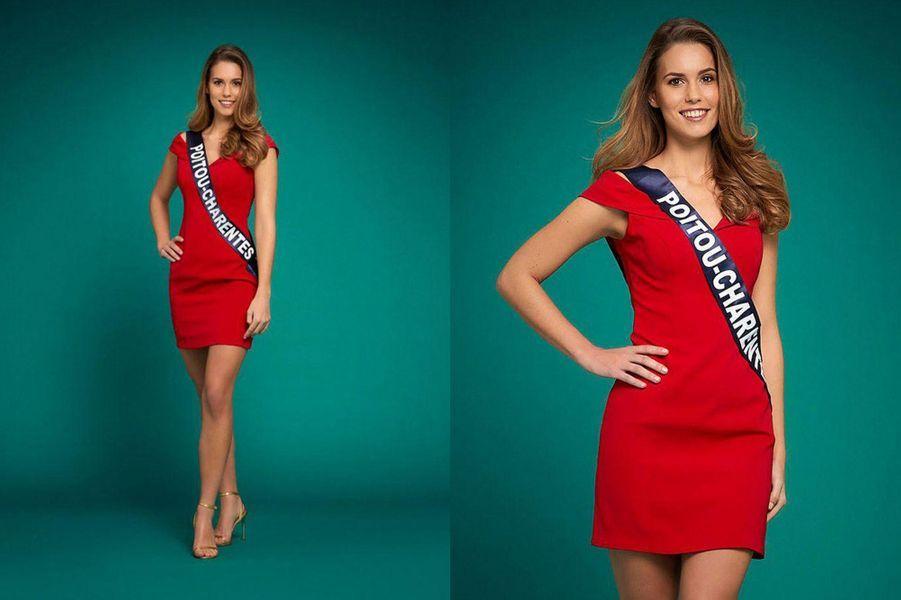 Miss Poitou-Charentes, Justine Dubois, 24 ans, 1m74