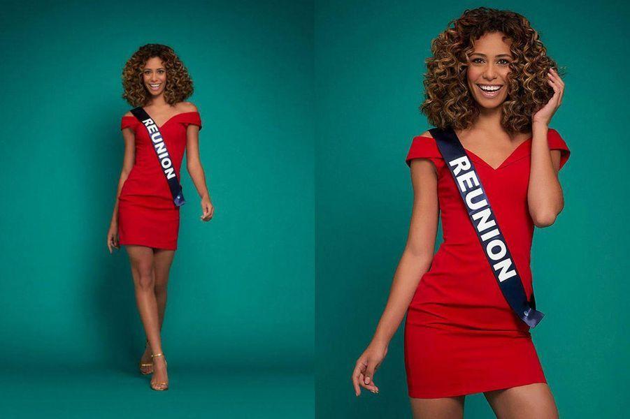 Miss Réunion, Lyna Boyer, 21 ans, 1m73