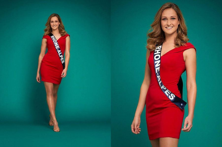 Miss Rhône-Alpes, Anaïs Roux, 23 ans, 1m73