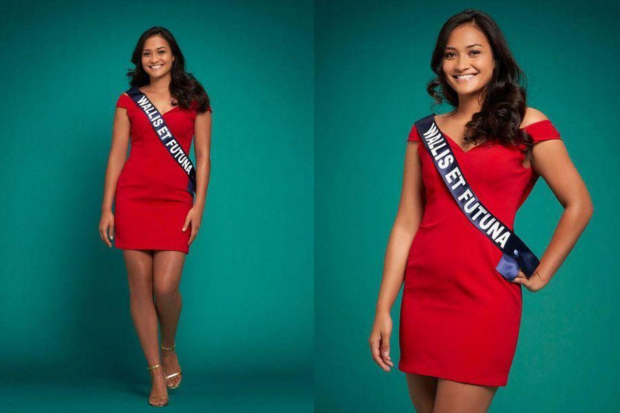 Miss Wallis-et-Futuna, Mylène Halemai, 19 ans, 1m77