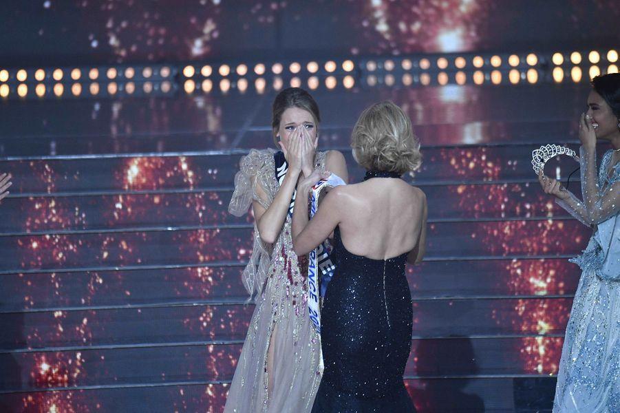 Amandine Petit, Miss Normandie, élue Miss France 2021