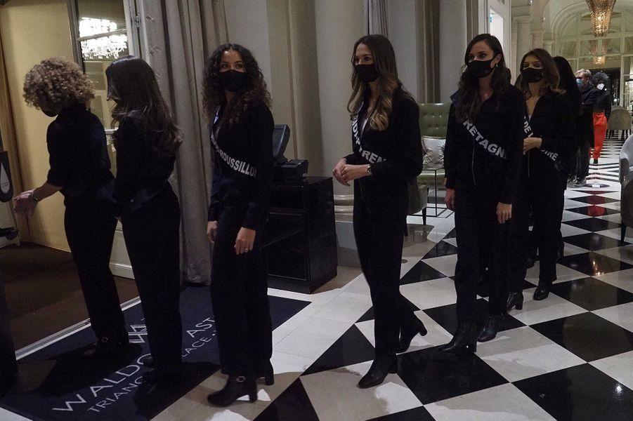 Les Miss à l'hôtel